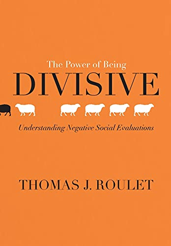 9781503608207: The Power of Being Divisive: Understanding Negative Social Evaluations