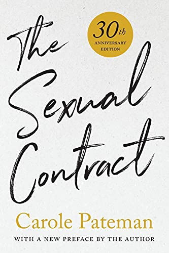 9781503608276: The Sexual Contract: 30th Anniversary Edition, With a New Preface by the Author