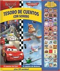 9781503700710: TESORO DE CUENTOS CON SONIDOS CARS Y AVIONES