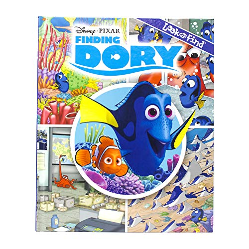 Finding Dory Look Find (Hardback)