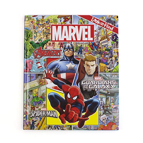 Marvel Look & Find (Hardcover)