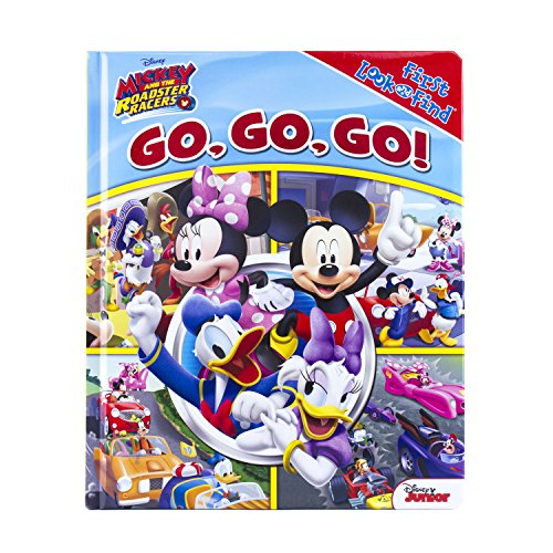 9781503722989: My First Look & Find Book - Mickey Roadster Racers - Go, Go, Go! (First Look and Find)