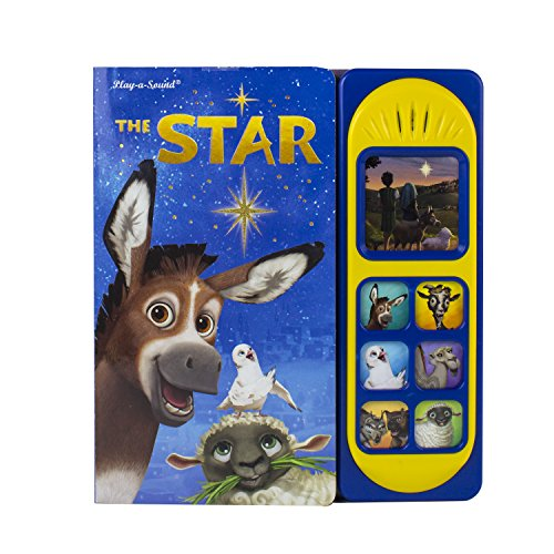Sony Pictures The Star Little Sound Book 9781503727168 (Play-a-sound): Adapted by Veronica Wagner