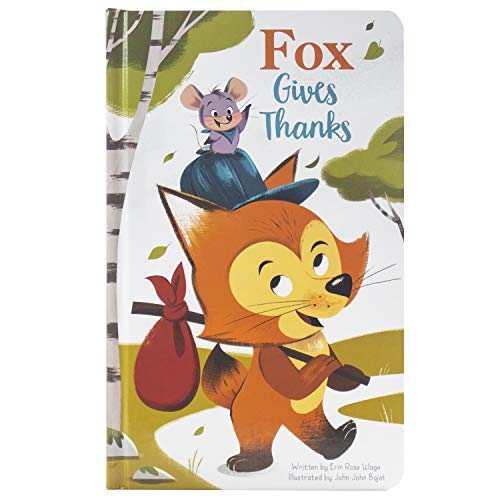 9781503746725: Fox Gives Thanks - a Thanksgiving Board Book - PI Kids