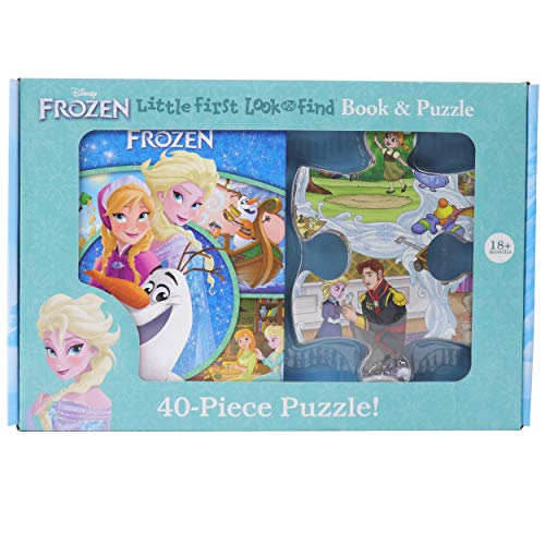 9781503755901: Disney Frozen - Little First Look and Find Activity Book and 40-Piece Puzzle - PI Kids