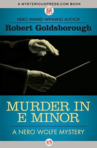 9781504034746: Murder in E Minor (The Nero Wolfe Mysteries)