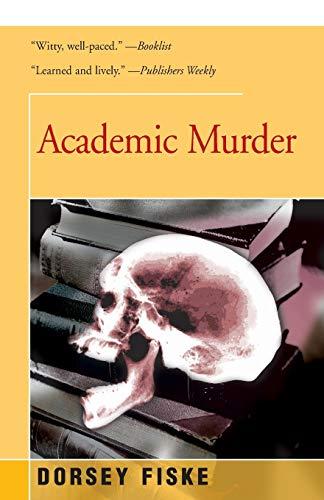 9781504036290: Academic Murder