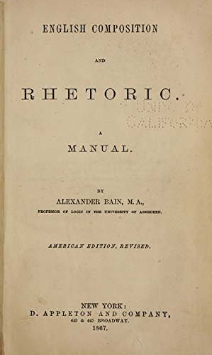 9781504200264: English Composition And Rhetoric: A Manual