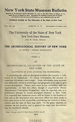 9781504220132: The Archeological History of New York