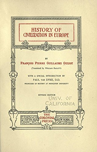 9781504232173: The History of Civilization in Europe