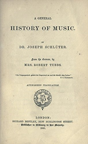 9781504236294: A General History of Music