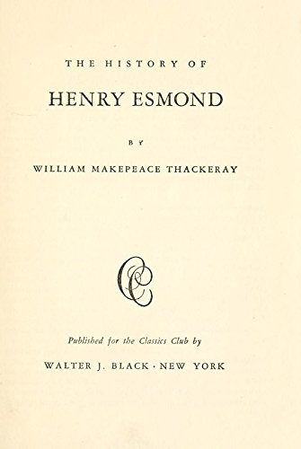 9781504236416: The History of Henry Esmond