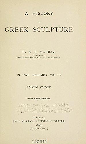 9781504240284: A History of Greek Sculpture