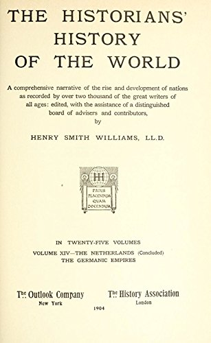 9781504259835: The Historians' History of the World; A Comprehensive Narrative of the Rise and Development of Nations As Recorded By Over Two Thousand of the Great Writers of All Ages