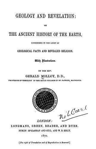 9781504270571: Geology and Revelation: Or the Ancient History of the Earth Considered in the Light of Geological Facts and Revealed Religion