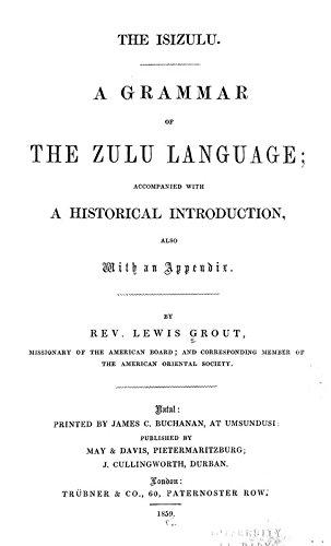 9781504293327: The Isizulu: A Grammar of the Zulu Language