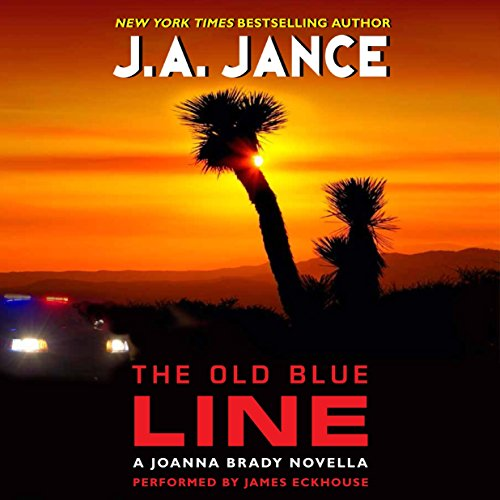 9781504637633: The Old Blue Line: Library Edition (Joanna Brady)