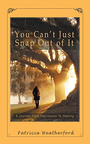 9781504910767: You Can't Just Snap out of It: A Journey from Depression to Healing