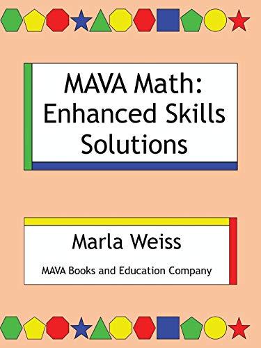 9781504967907: Mava Math: Enhanced Skills Solutions