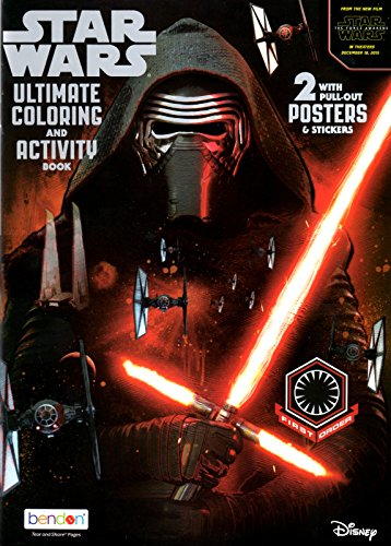 9781505002966: Star Wars Force Awakens Ultimate Activity Book