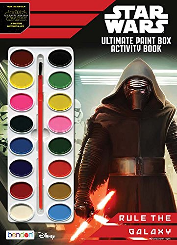 9781505003734: Star Wars Ultimate Paintbox Book to Color