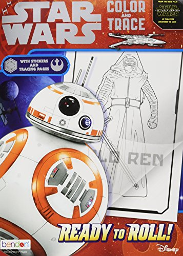 9781505003819: Ready to Roll! (Star Wars: the Force Awakens: Color and Trace)