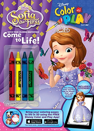9781505003840: Sofia the First Color & Play