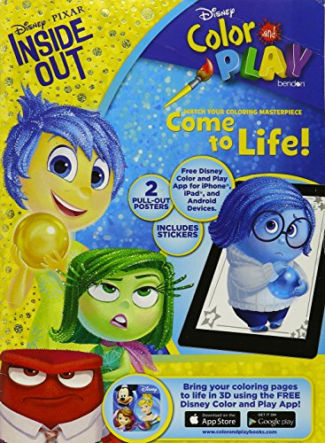 9781505003987: Inside Out Color & Play Ultimate Activity Book