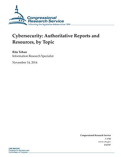 9781505203264: Cybersecurity: Authoritative Reports and Resources, by Topic (CRS Reports)