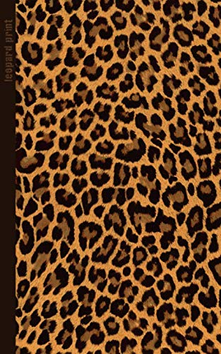 9781505219159: Leopard Print: Gifts / Gift / Presents ( Leopard Skin / Fur - Ruled Notebook ) [ Animal Print Stationery / Accessories ] (Contemporary Design)