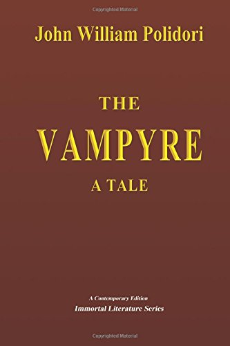9781505282726: The Vampyre - A Tale