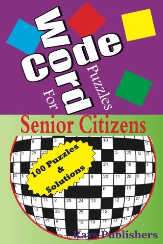 Code Word Puzzles for senior citizens (Volume 1): Rays Publishers
