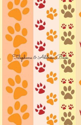 9781505402537: Telephone & Address Book: Cat Paws