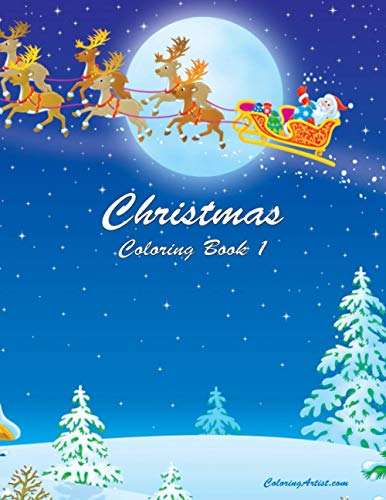 9781505410969: Christmas Coloring Book 1 (Volume 1)