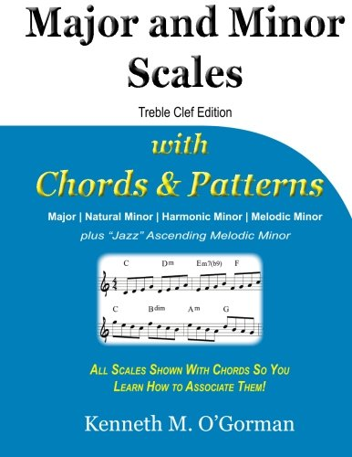 9781505415285: Major and Minor Scales with Chords and Patterns
