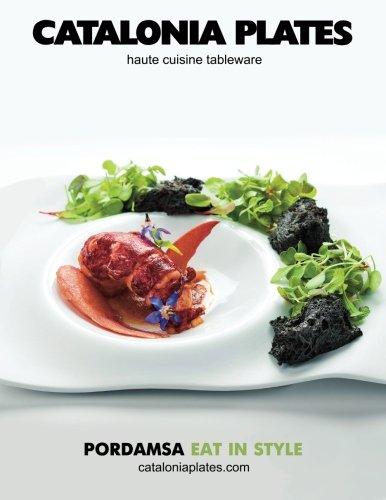 9781505460407: Catalonia Plates Colorful: Haute cuisine tableware catalog