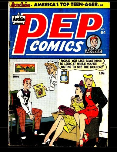 9781505460902: Pep Comics #64: Golden Age Archie Comic