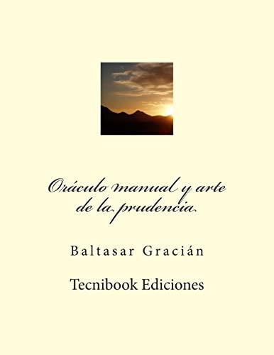 9781505570670: Oráculo manual y arte de prudencia