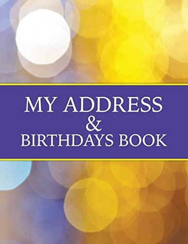 My Address & Birthdays Book: Celeste von Albrecht