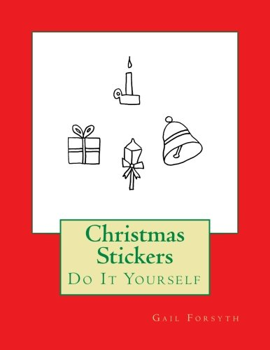 9781505713008: Christmas Stickers: Do It Yourself