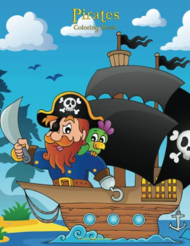 Pirates Coloring Book 1 (Volume 1): Nick Snels