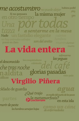 9781505828269: La vida entera (Spanish Edition)