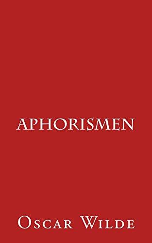 9781505834369: Aphorismen