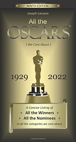 9781505866858: All the Oscars: (We Care About)
