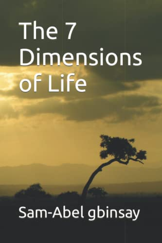 9781505876420: The 7 Dimensions of Life