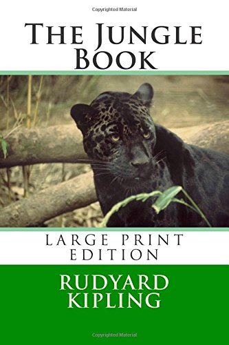 9781505900064: The Jungle Book - Large Print Edition