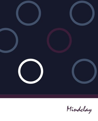 9781505910018: Mindclay: Mindclay Modern Creative Notebook, Large, Plain, Colored Circles, Soft Cover (7.5 x 9.25) (Doodle, Draw & Sketch Journal Series)