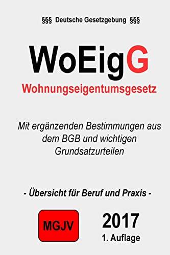 9781505997385: Wohneigentumsgesetz: WoEigG
