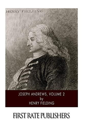 9781505997811: Joseph Andrews, Volume 2