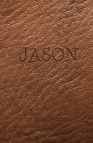 9781506001982: Jason: Personalized Name Journal